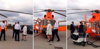 Sursa:stirisuceava Viorica Dăncilă își face turnel electoral prin țară cu elicopterul