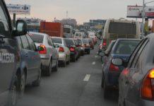Trafic aglomerat pe DN1, Ploieşti-Braşov