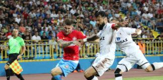 Gaz Metan Mediaş s-a distrat pe teren cu FCSB FOTO: Macrea Valentin / telekomsport.ro