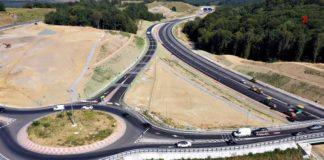43 de kilometri de autostradă sunt aproape de deschidere