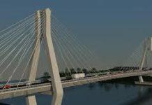 Comisia Europeană a aprobat finanţarea podului suspendat peste Dunăre dintre Brăila şi Tulcea, a anunţat sâmbătă, pe Facebook, ministrul Finanţelor Publice Eugen Teodorovici.