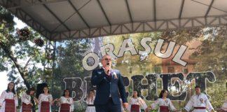 Primarul Adrian Glăvan a dat startul sărbătorii din oraşul Bechet