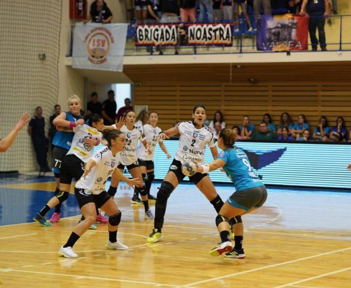 SCM Vâlcea a cedat în repriza a doua, iar Supercupa a mers la Bucureşti (Foto: SCM Râmnicu Vâlcea)