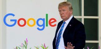 """Donald Trump acuză Google de acțiuni """"foarte ilegale"""""""