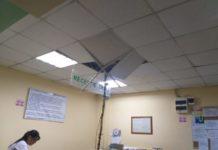 Unul dintre tinerii implicaţi în scandalul din Brazdă a ajuns la spital unde a făcut scandal şi ar fi distrus tavanul de rigips