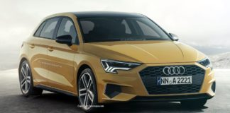 Audi A3, noul model va fi prezentat în luna martie la Geneva