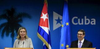 Uniunea Europeană, sprijin pentru Cuba