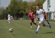 """Florin Ciupitu a fost unul dintre marcatorii Academiei """"Gică Popescu"""" în Banat (Foto: Alex Vîrtosu)"""