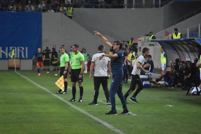 Victor Piţurcă a tras concluzia că echipa suferă la capitolul creaţie (Foto: Tibi Cocora)