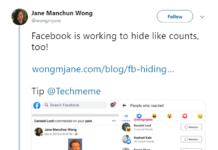 Facebook va testa ascunderea contorului la reacții