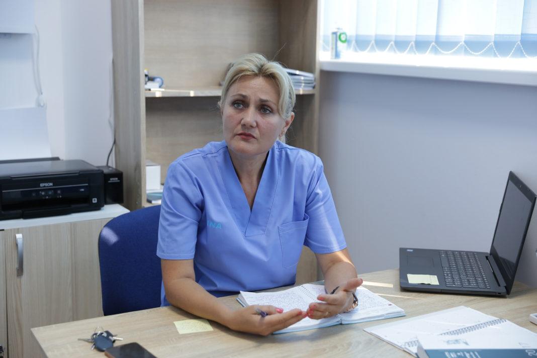 Doina Bistriceanu, fizioterapeut