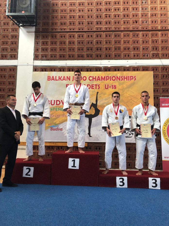 David Mitran, locul 1 la Campionatul Balcanic din Muntenegru