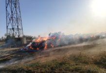 Incendiu în satul Zăval
