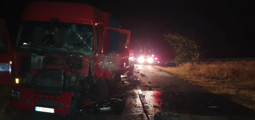 Accident mortal în Tâmburești