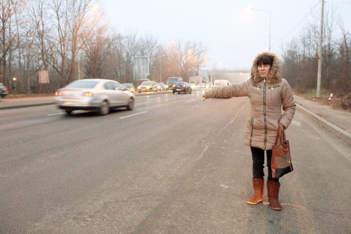Razie pentru combaterea transportului ilegal de persoane