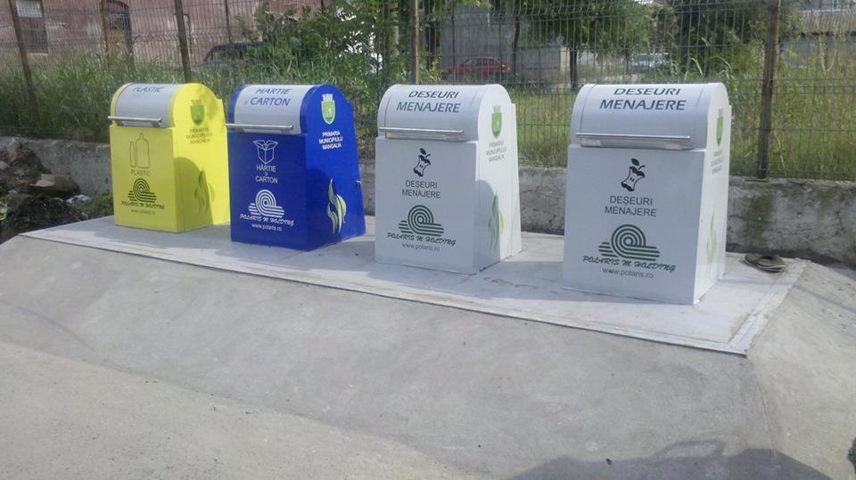 Containerele Polaris sunt amplasate în mai multe zone din oraş