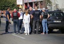 Galerie foto/ Dincă, huiduit la reconstituirea crimei