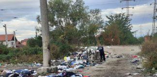 Polițiștii locali au depistat duminică un bărbat în timp ce arunca deșeuri pe strada Pinului din municipiul Tîrgu Jiu
