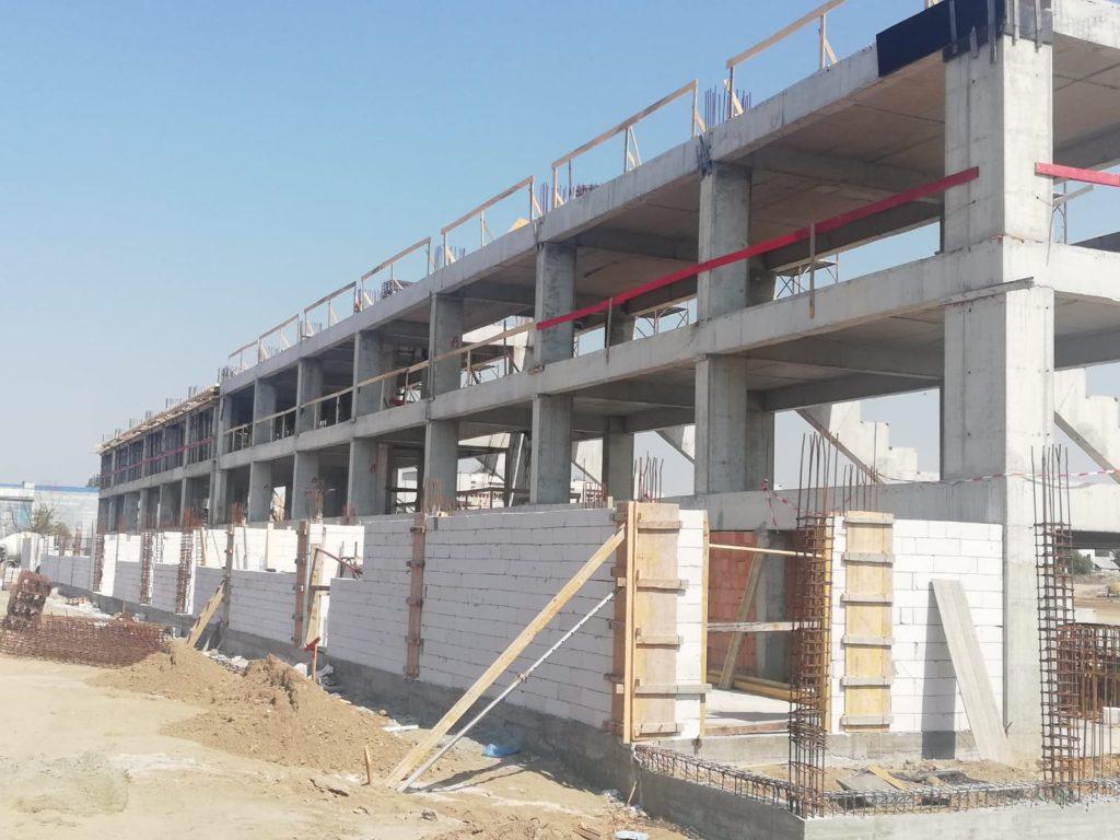Stadionul de atletism din Craiova începe să prindă contur