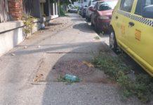 Pe strada Constantin Lecca se dă mai rar cu mătura