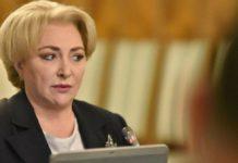 Dăncilă: Luăm în calcul restructurarea Guvernului în Parlament