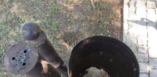 """Coşurile de gunoi din Parcul """"Romanescu"""", mâncate de rugină"""
