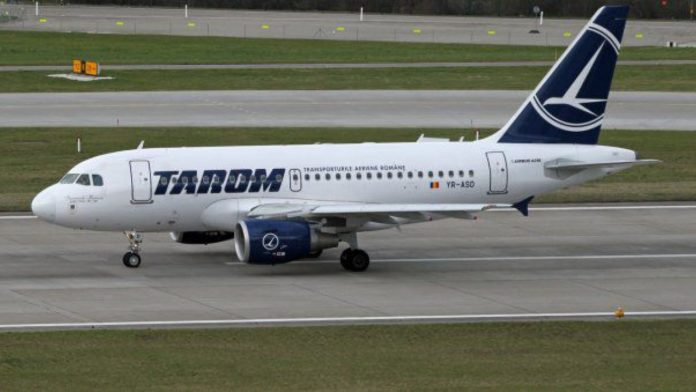 Tarom vinde bilete de avion de la 99 de euro