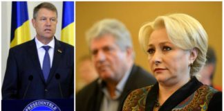 Viorica Dăncilă l-a sunat pe Klaus Iohannis privind miniştri interimari