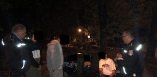Razie noaptea trecută pe străzile din Târgu Jiu