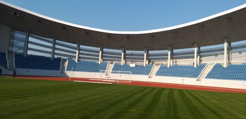 Cum arată noul Stadion Municipal din Târgu-Jiu, după ce a fost predat primăriei