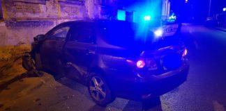 Accident în Craiova, la intersecţia străzii Alexandru Macedonski cu strada Împăratul Traian