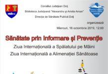 Sănătate prin Informare și Prevenție, la Biblioteca Judeţeană