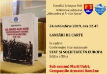 Dublă lansare de carte la Biblioteca Judeţeană