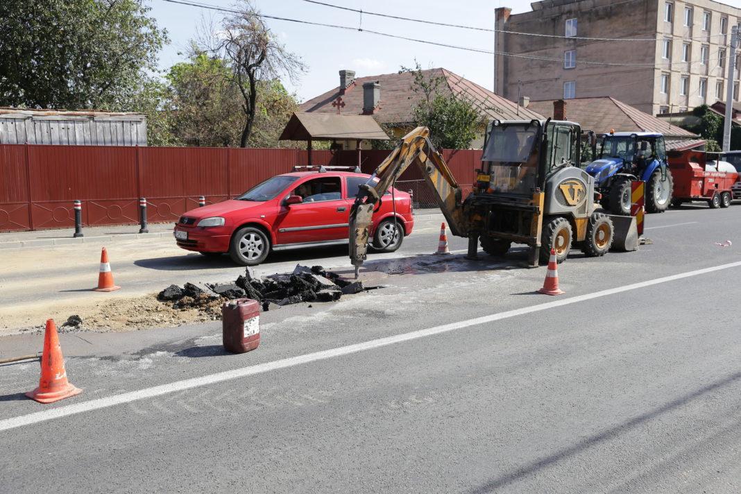 S-a produs o avarie la conducta de apă pe strada Frații Buzești din municipiul Craiova ( Foto: Arhiva GdS)