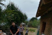 Casă reparată de voluntari în judeţul Dolj