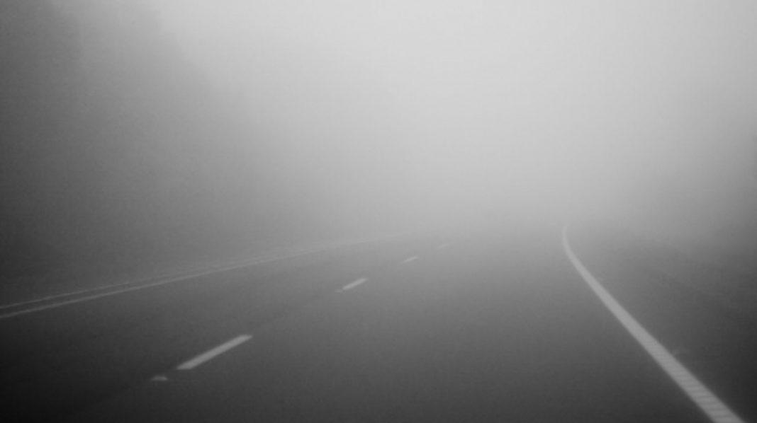 Coduri galbene de ceață în 26 de judeţe în orele următoare