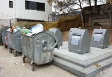 Containere îngropate