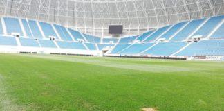 "Noul gazon de la stadionul ""Ion Oblemenco"" vine din Grecia"