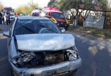 Accident pe Drumul Județean 546