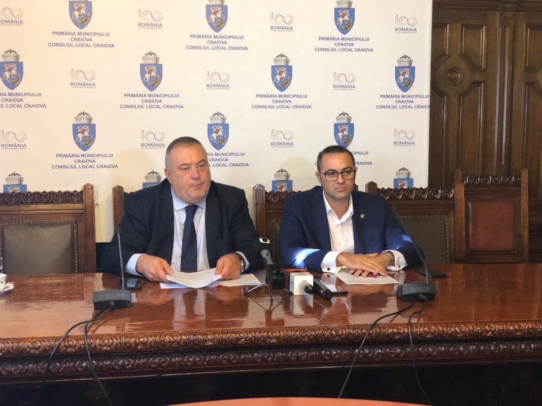 Ai un proiect pentru Craiova? Poţi obţine 50.000 de euro de la primărie. Primarul Mihail Genoiu şi viceprimarul Stelian Bărăgan au anunţat lansarea programului de bugetare participativă