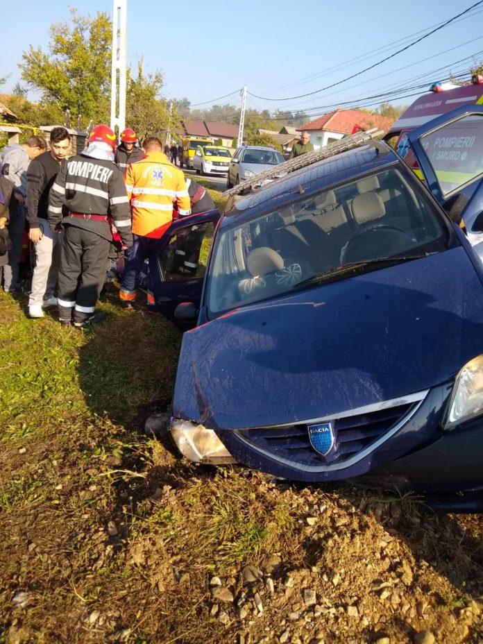 Gorj/ Bătrân rănit grav în urma unui accident rutier la Rasova