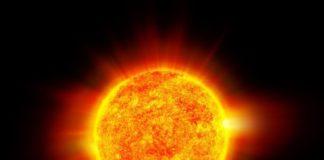 Fotografia înfricoșătoare cu soarele, publicată de NASA