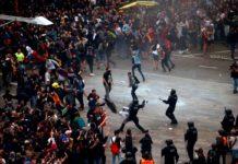 LiveVideo: Barcelona, paralizată de proteste