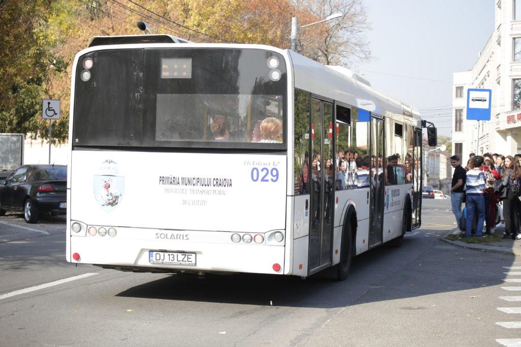 RAT Craiova caută piese de schimb pentru autobuzele Solaris
