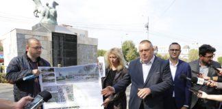 """Intrarea secundară în Parcul """"Romanescu"""" va fi modernizată. Lucrările vor începe săptămâna viitoare şi vor dura şase luni"""