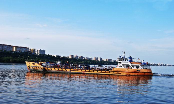 Traversarea cu feribotul, întreruptă temporar prin P.T.F. Bechet