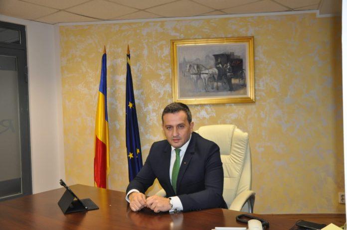 Mircea Tudosie, directorul genereal al Poştei Române.