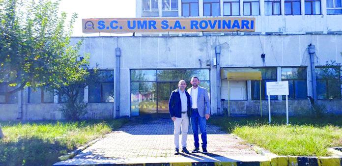 Investitorul a cumpărat halele fostei UMR Rovinari
