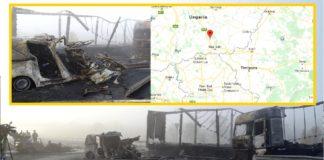 Șapte persoane, între care o familie de români cu 2 copii, au murit într-un accident în Ungaria