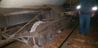 Vagonul unui mărfar a deraiat în Mehedinţi